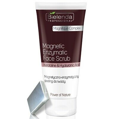 Bielenda Professional Power of Nature Magnetic Enzymatic Face Scrub +FREE Magnet