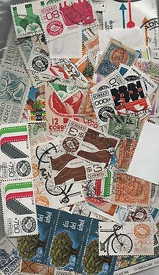 Mexico Kiloware off paper 50gms fine used excellent selection 150+ stamps