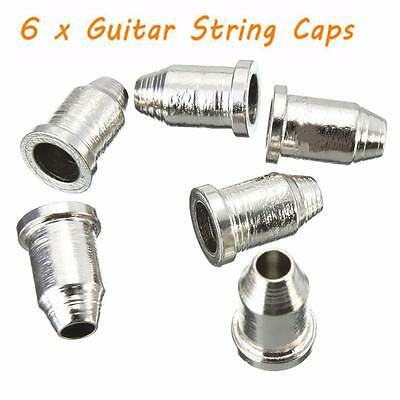 "6Pcs Guitar String Caps 1/4"" String Ferrules Temperament Telecaster"