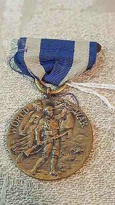 WW1 US New York Military Service medal numbered