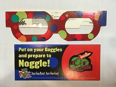 Nickelodeon 3D Nogglevision Glasses