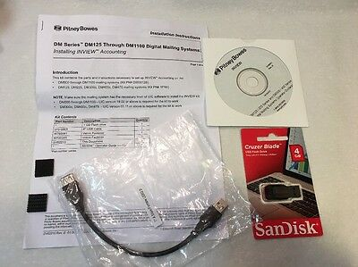 New Pitney Bowes DM Series Inview Software Kit