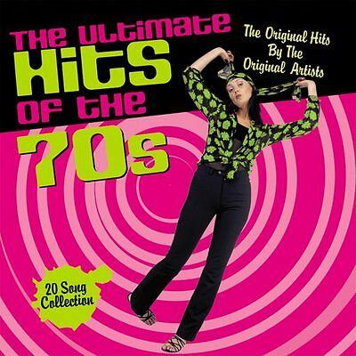 Ultimate Hits of The 70's NEW CD