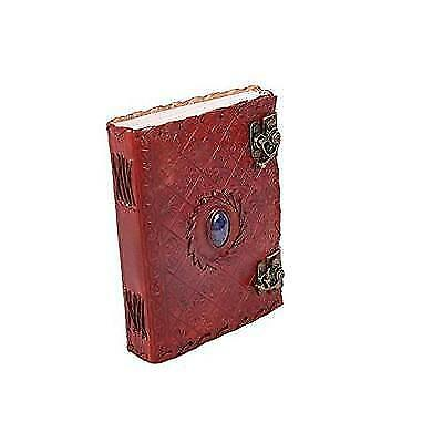 """FREE 2 DAY SHIPPING: Handmade Large 8"""" Embossed Leather Journal Celtic two"""