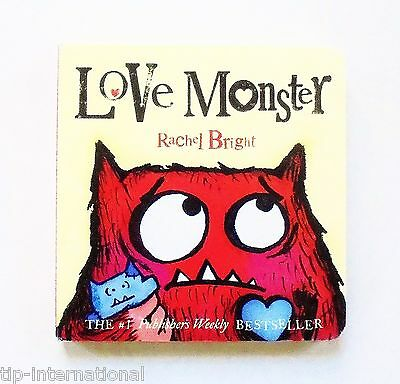 Love Monster by Rachel Bright (Board Book) (Picture Book)
