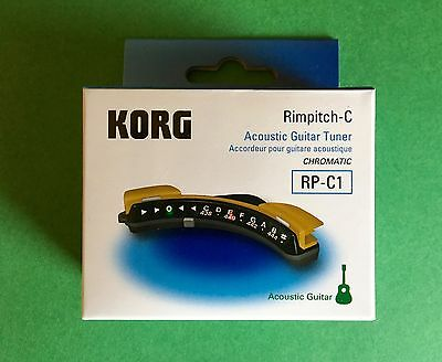 Korg Rimpitch-C RP-C1 Chromatic Acoustic Guitar Tuner Japan Free Shipping