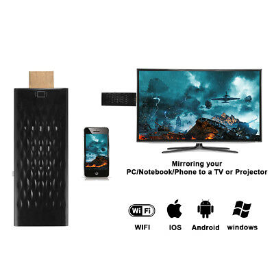 Miracast WiFi HDMI HD 1080P Dongle Stick TV Media Wireless für Android/IOS AH293