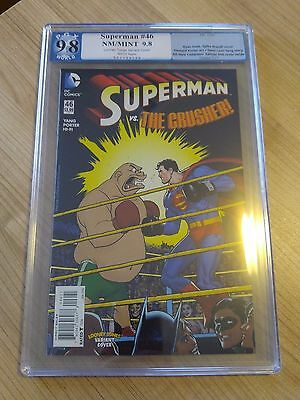Superman 46 Pgx 9.8 Looney Tunes Variant Neal Adams Cover Swipe A-Nce #56