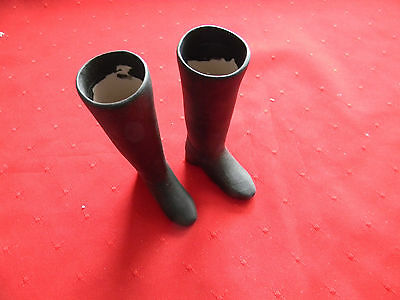 Porcelain Doll Boots, Gray