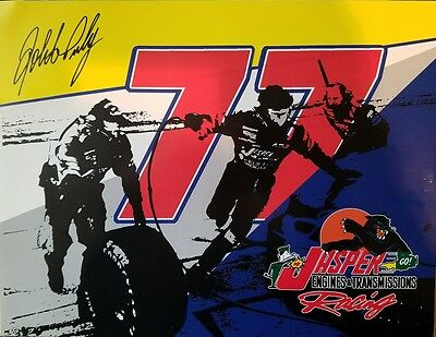 Robert Presley Signed Autographed 8x10 Promo Nascar Car Racing Photo Picture