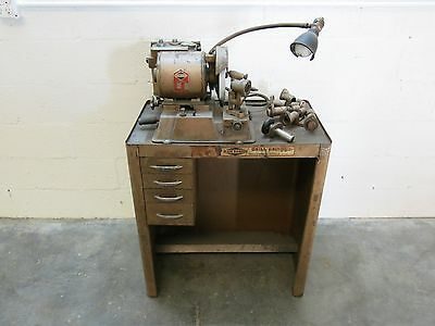 "Black Diamond Precision Drill Grinder Model 21 w/ Stand 1-1/6"" - 1/2"" Capacity"