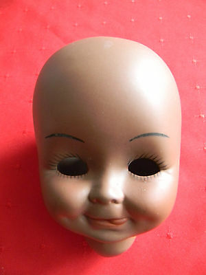 Porcelain Doll Head, African American