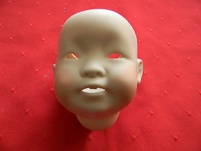 Porcelain Doll Head, Asian, J.D.K. 243