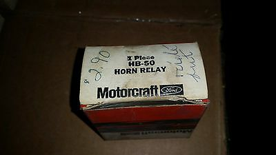 Motorcraft HB-50 Horn Relay 1957/60's and other 1961/66's