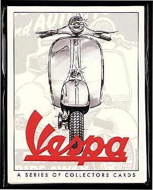 VESPA  Original Collectors Cards - 150cc 90SS Gran Sport Rally 180 200 Sportique