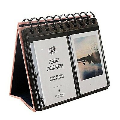 HAOCOO 68 Pockets Photo Album Book Album For Fujifilm instax mini7s 8 25 ... NEW