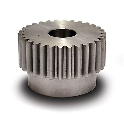 "Boston Gear NB12B Spur Gear 14.5 Pressure Angle Steel Inch 16 Pitch 0.375"" Bo..."