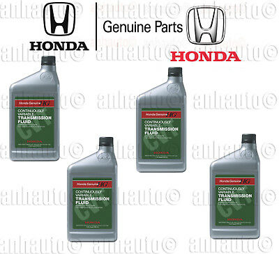 4x Quarts GENUINE HONDA ATF CVT Automatic Transmission Fluid for Honda