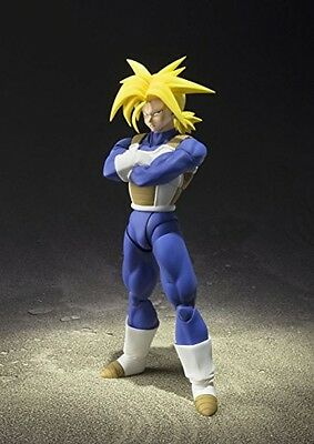 New Dragon Ball Dbz Z Action Figure S.H. Super Saiyan Trunks Bandai Tamashii