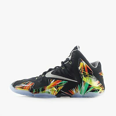 Nike Lebron XI Men's Basketball Shoes in Black/Silver/Grey