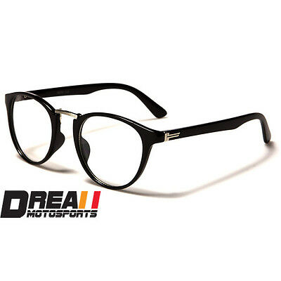 NERD Men Women Unisex GEEK RETRO ROUND FRAME CLEAR LENS EYE GLASSES FASHION NEW