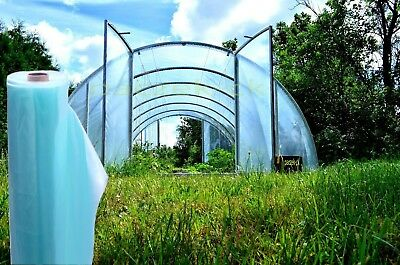 Greenhouse Clear Plastic Film Foil Cover Pollytunnel UV-2 UV-4 sheeting