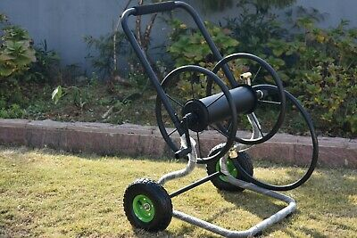 ZORRO Steel Hose Reel Cart Available in Green & Red