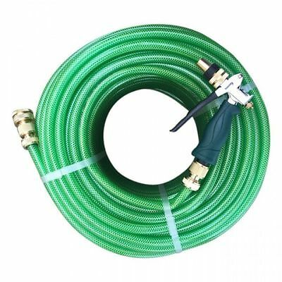 new LAWN FLEX Garden Water 12mm Hose with set of Ryset Trigger & Brass Fittings
