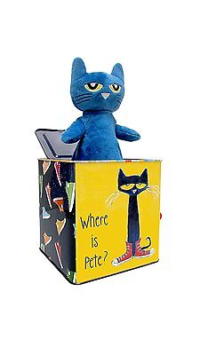Pete the Cat Jack in the box