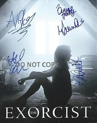 The Exorcist - Hand Signed Photo With Coa - All 5 Main Cast Autographed Photo