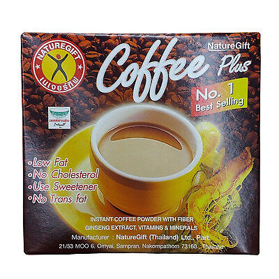 Coffee Plus Ginseng NATURE GIFT Weight Loss Diet Instant 1 box (1x10 sachets)