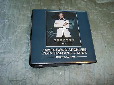 James Bond- 2016 Classics Spectre Edition     Binder Mini Master Set