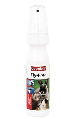 Beaphar Small Animal Fly Free Strike Protector Spray Rabbit Guinea Pig Ferret 15