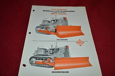 Allis Chalmers HD11 Crawler Tractor Dealers Brochure AMIL12 ver7
