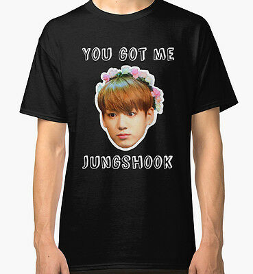 Jungshook Men's Black Tees Tshirt S - 3XL