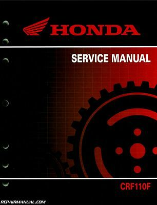 2013-2017 Honda CRF110F Motorcycle Service Manual : 61KYK04
