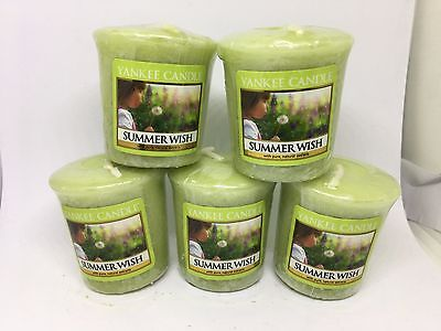 Yankee Candle 5x Summer Wish 49g Votives USA EXCLUSIVE VERY RARE