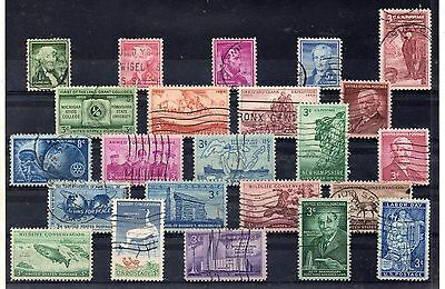 Estados Unidos Series del año 1954-56 (DB-429)