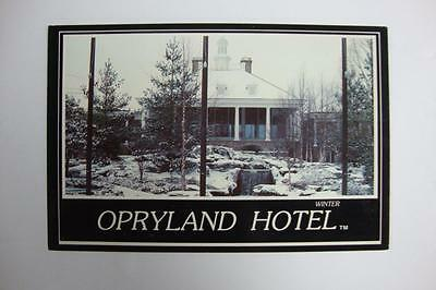286) Nashville Tennessee The Opryland Hotel Covered In A Rare Winter Snow 1986