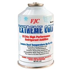FJC, Inc. 9150 Extreme Cold Additive - 2 oz R134a and 2 oz Additive
