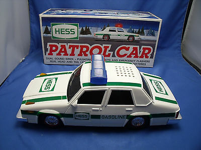 "Hess ""Hess Patrol Car"" 1993 Lights Siren Flashers Original Box Collectable Mint"