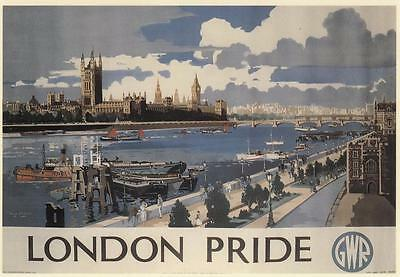 Houses Of Parliment ( Gwr ) Postcard