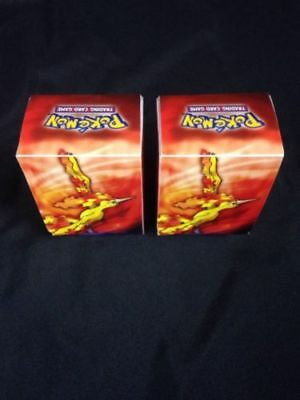 Pokémon Legendary Birds 2005 - 2 x original identical Deck Boxes  (G30)