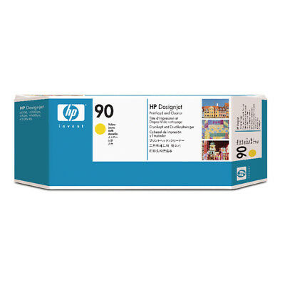 HP 90 Yellow Printhead and Cleaner C5057A
