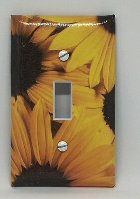 Sunflowers Light Switch Cover Plate Sunflowers Summer Spring Yellow Flowers