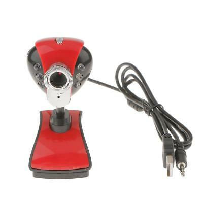 30MP HD Web Camera USB Webcam 360° MIC with Microphone for Computer YouTube
