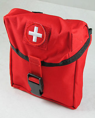MILITARY IFAK Platoon First Aid EMT EMS Medical Molle TRAUMA KIT Red School