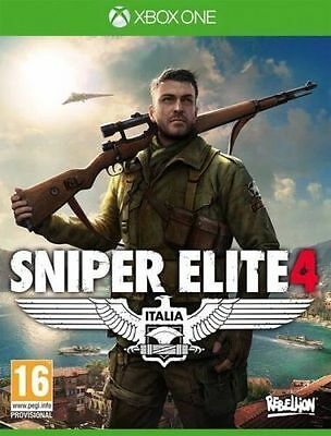 Sniper Elite 4 XBOX ONE New *DISPATCHED FROM BRISBANE*