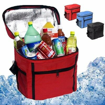 Large Picnic Lunch Storage Bag Travel Portable Thermal Insulated Cool Bag Tote