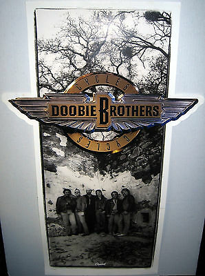 """DOOBIE BROTHERS Cycles (1989 U.S. 23inch x 36inch """"In-Store Only"""" Promo Poster)"""